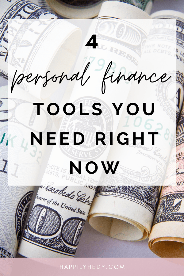 4 personal finance tools you need right now. Whether you're looking to repay debt, get a side hustle, or review your budget, here are 4 personal finance tools you need to know about!