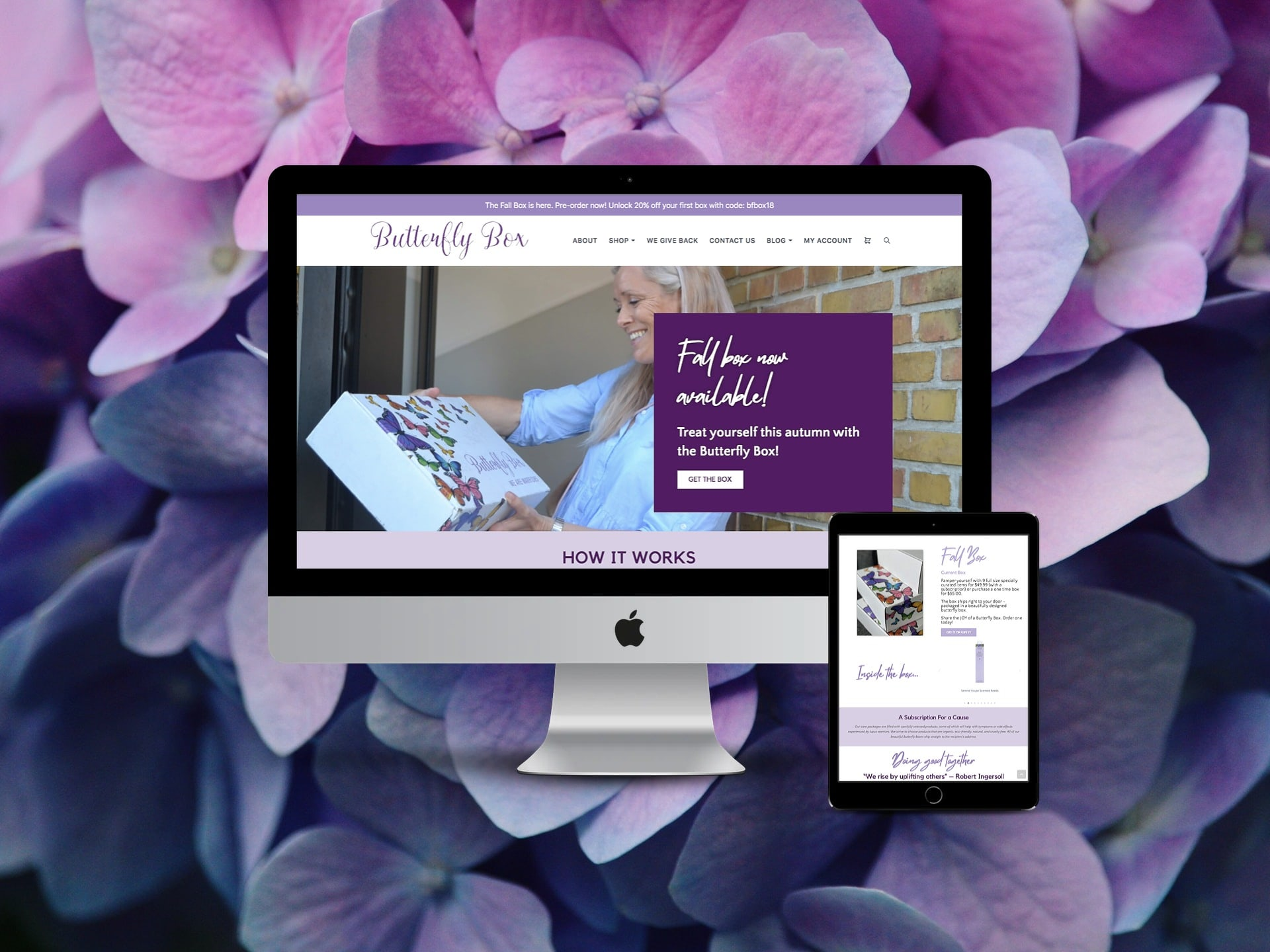 Butterfly Box Website