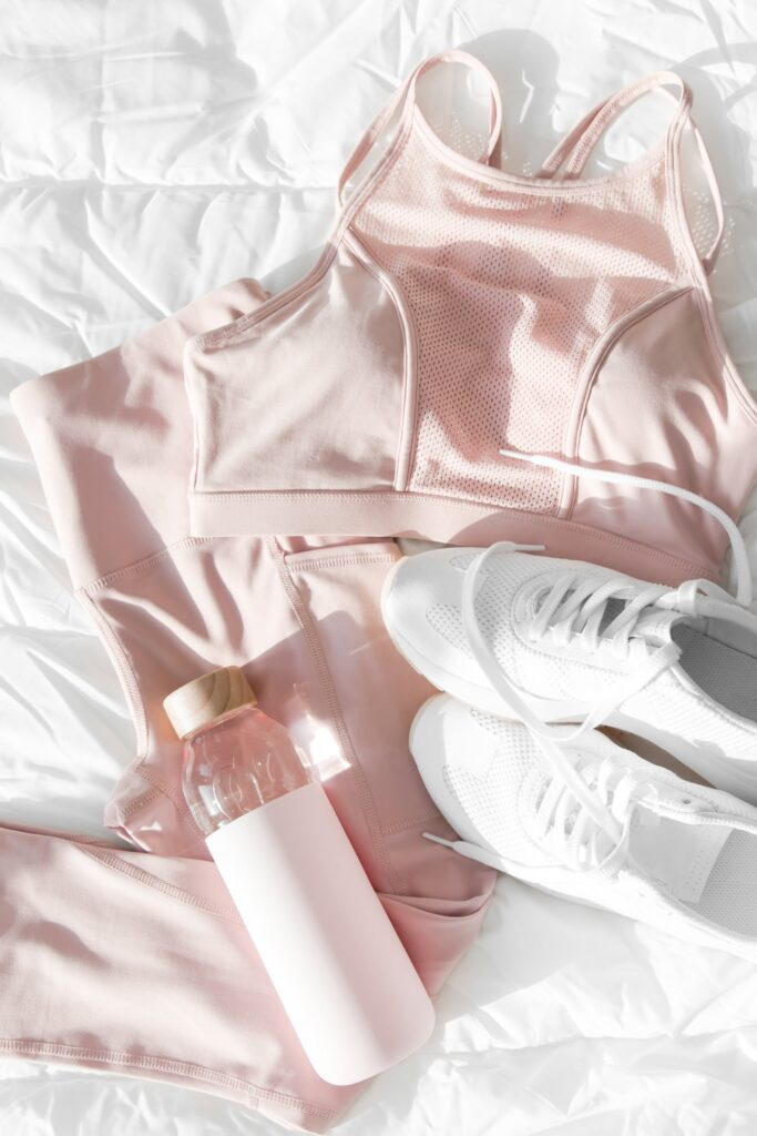 Pink exercise gear to glow-up your life